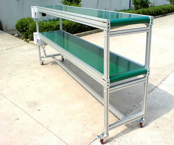 Conveyor And Storage Shelf